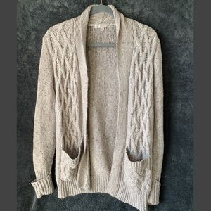Romeo and Juliet Open Cardigan in Grey
